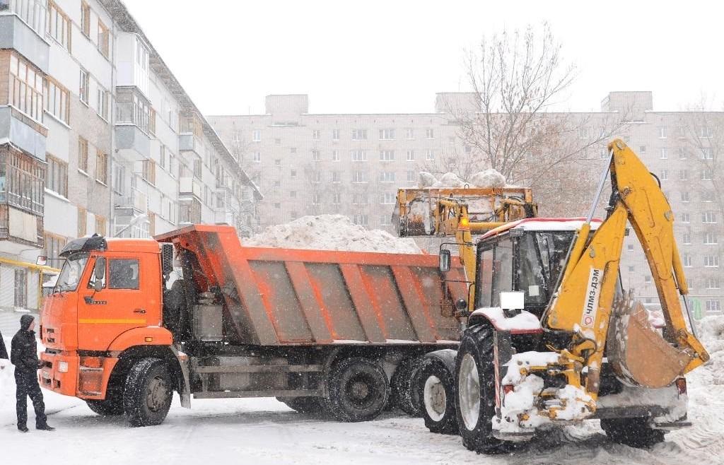 Заключаем договора на вывоз снега
