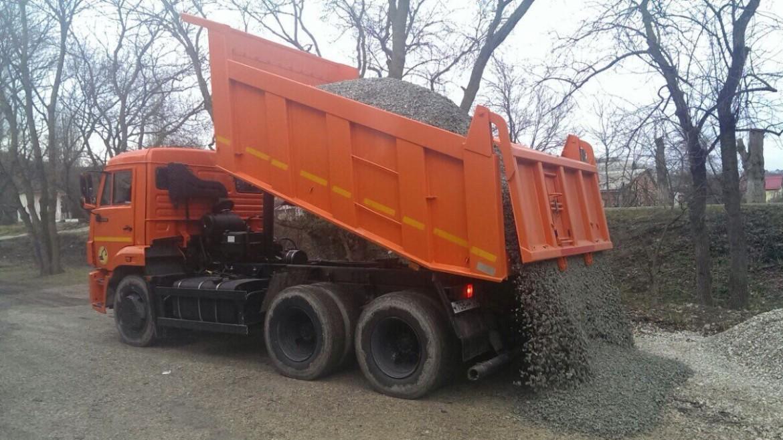 Доставка сыпучих грузов и уборка снега